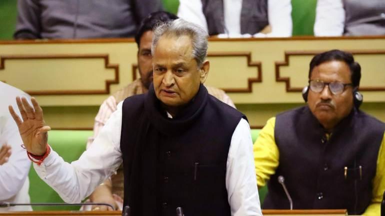राजस्थान परिवर्तित बजट 2019-20 पर श्री अशोक गहलोत का वक्तव्य