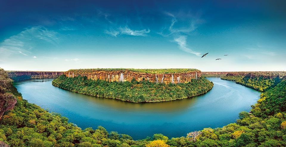 चम्बल नदी – सहायक नदियाँ, बाँध