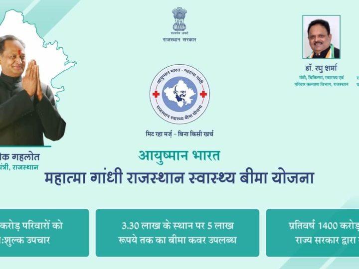 आयुष्मान भारत महात्मा गांधी राजस्थान स्वास्थ्य बीमा योजना