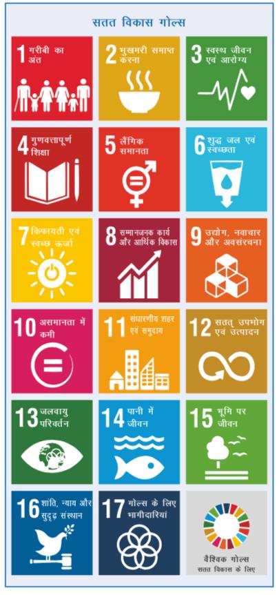सतत विकास गोल्स (SDGs), सतत विकास लक्ष्य
